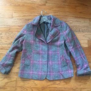 Talbots 80% wool jacket